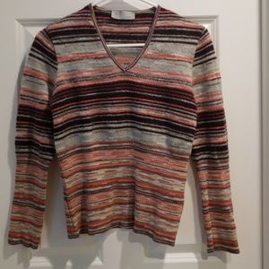 Missoni Women's Striped Knitted Sweater S